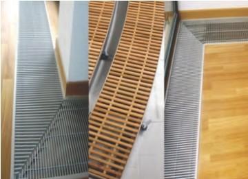 Poza Ventiloconvector de pardoseala RADOX RCF - detalii grilaje