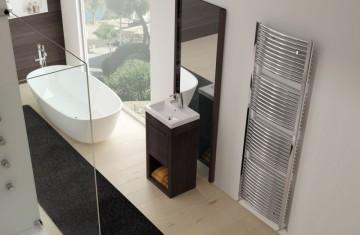 Poza Exemplu montaj radiator port-prosop