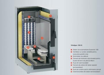 Poza Centrala termica pe lemn cu gazeificare Viessmann Vitoligno100 S