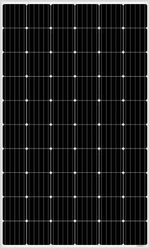 Poza Panou solar fotovoltaic monocristalin AMERISOLAR AS-6M30-320 W