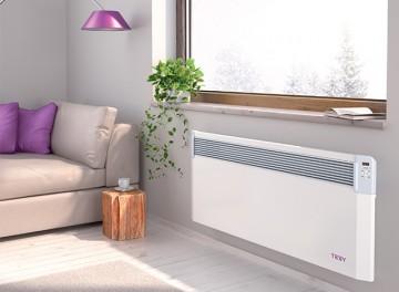 Poza Convector electric cu termostat electronic si WIFI Tesy CN03 EIS CLOUD - exemplu de montaj