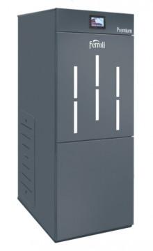 poza Centrala termica pe peleti cu autocuratare Ferroli BioPellet Premium 24 kW