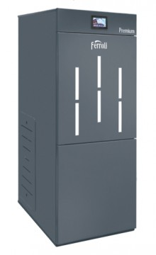 poza Centrala termica pe peleti cu autocuratare Ferroli BioPellet Premium 30 kW