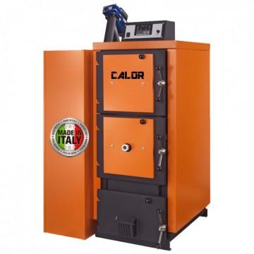 poza Centrala termica mixta pe lemn si peleti CalorCaldaie MX Automatica 43 inox