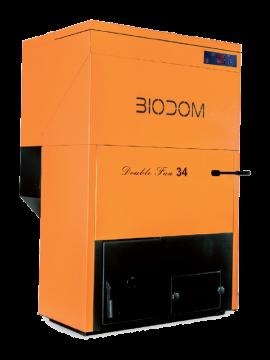 Poza  Centrala termica pe peleti BIODOM B34 30 kW