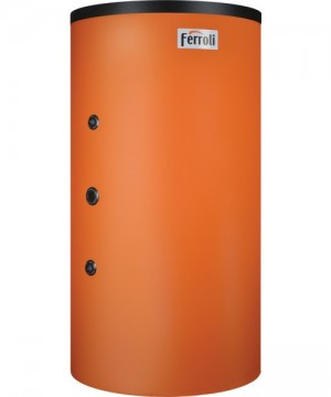 poza REZERVOR DE ACUMULARE COMBINAT (PUFFER) TIP TANK-IN-TANK FERROLI FB-T1 1000 cu o serpentina, capacitate 1000/220 litri