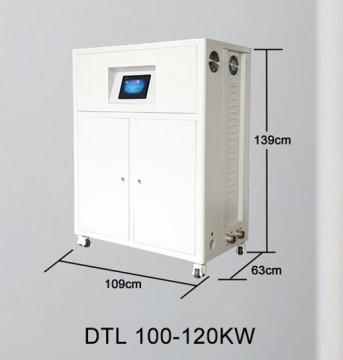 Poza Centrala termica electrica cu inductie OFS-DTL 100 kW - dimensiuni de gabarit