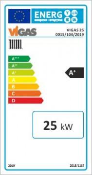 Poza Centrala termica pe lemn cu gazeificare VIGAS.25 25 kW - eticheta energetica