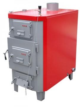 Poza Centrala termica pentru busteni de lemn UNILINE TITAN T-4 68 kW