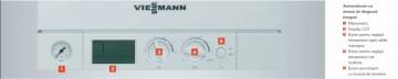 Poza Centrala termica pe gaz Viessmann Vitopend 100-W 30 kW cu tiraj natural panou de control