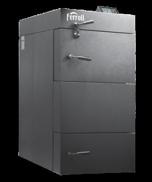 Poza Centrala termica pe lemn cu gazeificare Ferroli CGF 49 kW