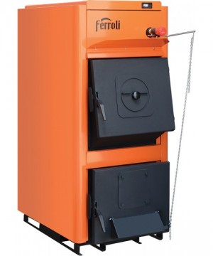Poza  Centrala termica pe lemn Ferroli FSB PRO vedere stanga